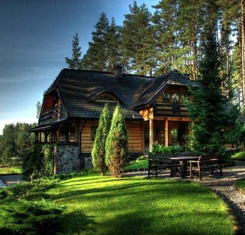 Bajeczny Pensjonat wśród jezior i lasów